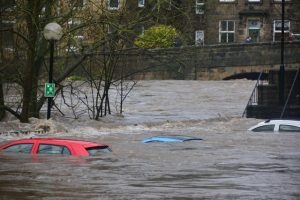 flooding from natural disaster